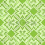 Cruz da Natureza Design de padrão vetorial sem costura