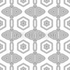 Graphical Order Seamless Vector Pattern Design
