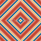 Mexican Patchwork Pattern Design