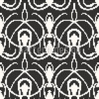 Twenties Dot Com Seamless Pattern
