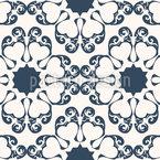 Symmetrische Eleganz Nahtloses Vektormuster