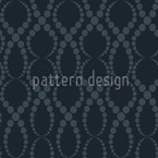 Black Pearls Seamless Vector Pattern Design