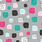 Stitches In Shapes Pattern Design