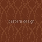 Brown Pearls Seamless Vector Pattern Design