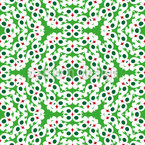 Around in Hexagons Repeating Pattern