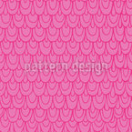 Mermaid Scales Seamless Vector Pattern Design