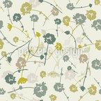 Blüten Andenken Nahtloses Vektormuster