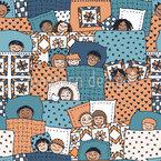 Pyjama-Party Muster Design