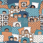 Sleepover Pattern Design
