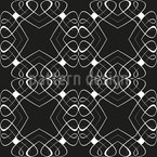 Intertwined Lines Seamless Pattern