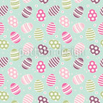 Easter Egg Fun Seamless Vector Pattern Design