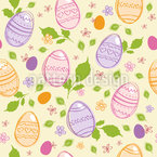 Hidden Easter Eggs Pattern Design