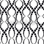 White Pearls Seamless Vector Pattern Design