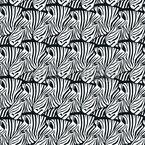 Lauter Zebras Nahtloses Vektor Muster