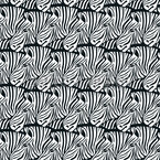 So Many Zebras Seamless Vector Pattern Design
