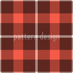 Simple Tartan Seamless Vector Pattern Design