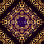 Königliche Geometrie Musterdesign
