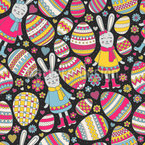 Easter Joy Seamless Vector Pattern Design