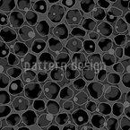 Verwobene Blumen Nahtloses Vektor Muster