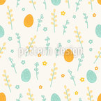 Vernal Easter Pattern Design