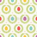 Osterkränze Musterdesign