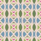 Stripe Ethno Seamless Vector Pattern Design