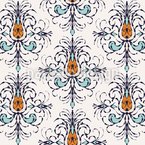 Amorous Branches Seamless Pattern