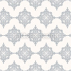 Dotted Octagon Seamless Vector Pattern