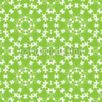 Chained In Circles Seamless Vector Pattern Design