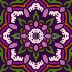 Rosette Dance Repeating Pattern