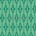 Dottore Green Seamless Vector Pattern Design