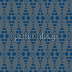Dottore Blue Seamless Vector Pattern Design