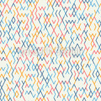 Rhombus-Sticks Seamless Vector Pattern Design