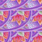 Phoenix Wings Pattern Design