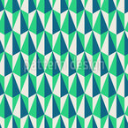 Dimensionale Retroträume Nahtloses Vektor Muster
