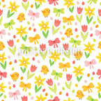 Festive Easter Vector Pattern