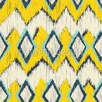 Ikat-Zick-Zack Muster Design