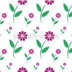 Flowercradle Repeat Pattern