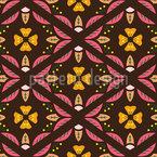 Blätterzaun Nahtloses Muster