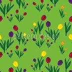 Tulips Meadow Design Pattern