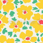 Floral Watercolor Repeating Pattern