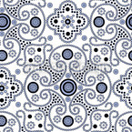 Medallion Seamless Vector Pattern Design