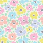 Watercoloured Spring Fever Pattern Design