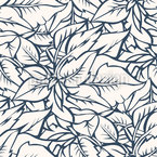 Mountain Of Foliage Seamless Pattern