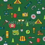 Camping-Set Musterdesign