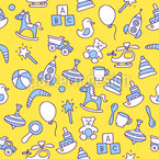 Funny Toys Seamless Vector Pattern Design