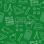 Mathe Ist Das Beste Nahtloses Vektormuster