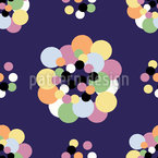 Modern Polka Dot Repeating Pattern
