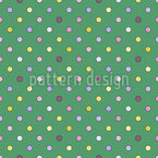 Contoured Polka Dots Seamless Vector Pattern Design