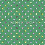 Umrandete Polka Dots Muster Design